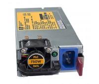 Блок питания Hot Plug Redundant Power Supply HE 750W (512327-B21)