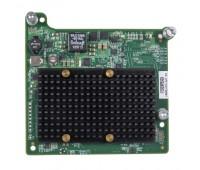Адаптер HP QMH2672 Host Bus Adapter, Qlogic-based, Fibre Channel mezzanine card Dual port, 16Gb, for BL cClass Gen8 (710608-B21)