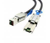 Кабель 4M Ext MiniSAS HD (SFF8644) to MiniSAS HD (SFF8644) Cable (716199-B21)