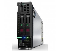 Блейд-сервер HPE ProLiant BL460c Gen10/ 2x Xeon 6140 Gold/ 128 GB/ P204i-bFBWC (1GB/RAID0/1/10/5/6)/ noHDD (2 SFF)/ noODD/ iLOstd/ 2x 20Gb FlexLOM(650FLB) (863447-B21)