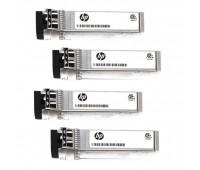 Трансивер HPE MSA, 16 Гбит/с, Fibre Channel, SFP+, коротковолновый, 4 шт. (для MSA2050/2052) (Q1J00A, Q1J01A, Q1J02A, Q1J03A) (C8R24B)